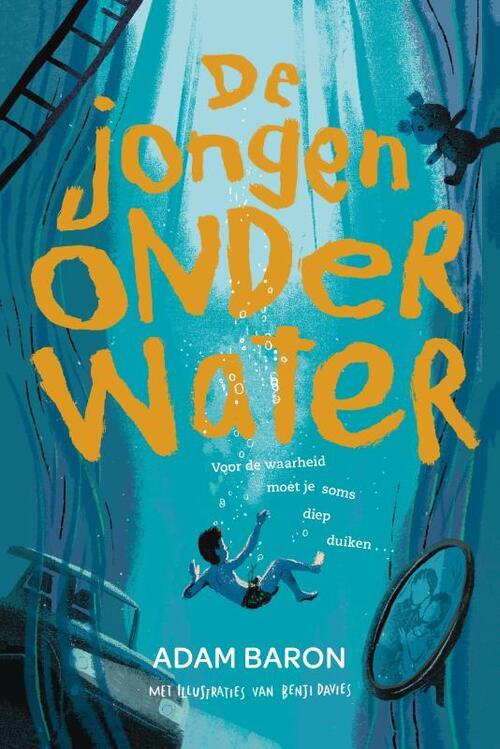 Afbeelding van De jongen onder water