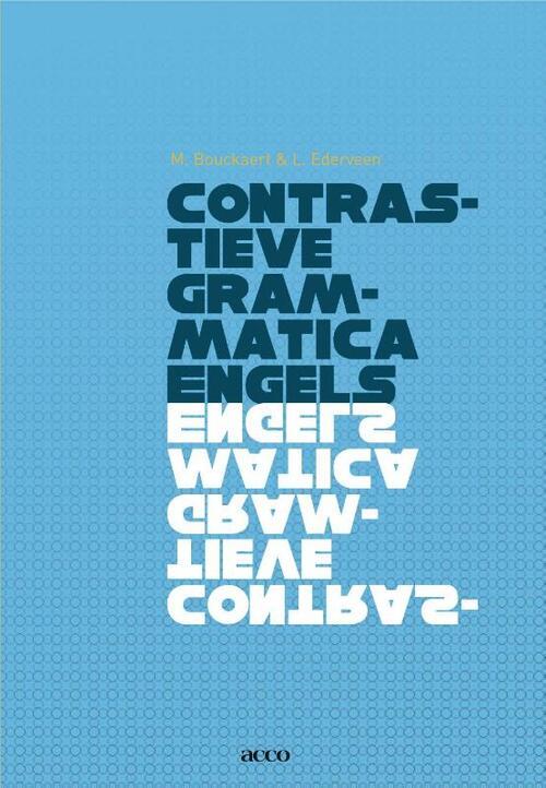Afbeelding van Contrastieve grammatica Engels
