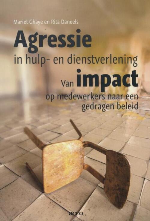 Afbeelding van Agressie in hulp en dienstverlening