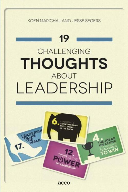 Afbeelding van 19 Challenging Thoughts About Leadership
