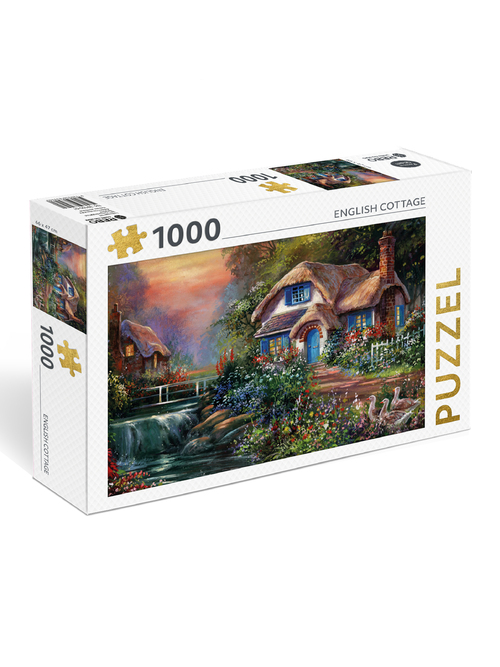 Dagaanbieding - Puzzel English Cottage (1000 Stukjes) dagelijkse koopjes