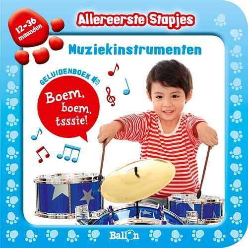 Afbeelding van Allereerste stapjes: Geluidenboek De instrumenten
