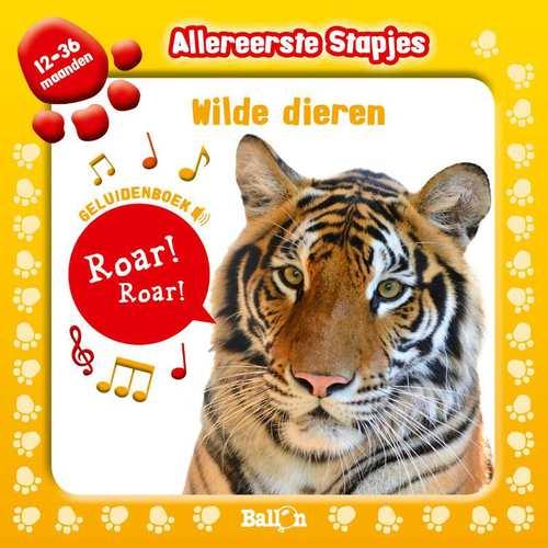 Afbeelding van Allereerste stapjes: Geluidenboek Wilde dieren