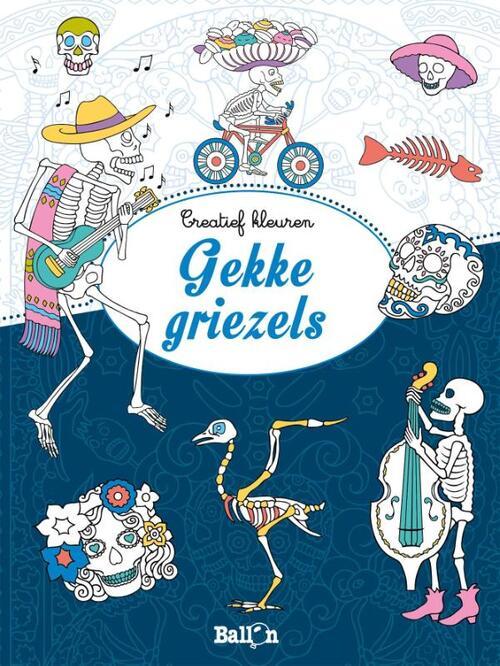 Afbeelding van Creatief kleuren Gekke griezels