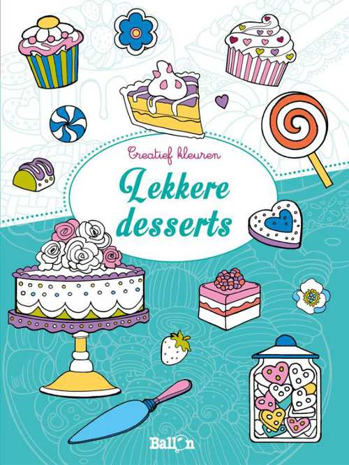 Afbeelding van Creatief kleuren Lekkere desserts