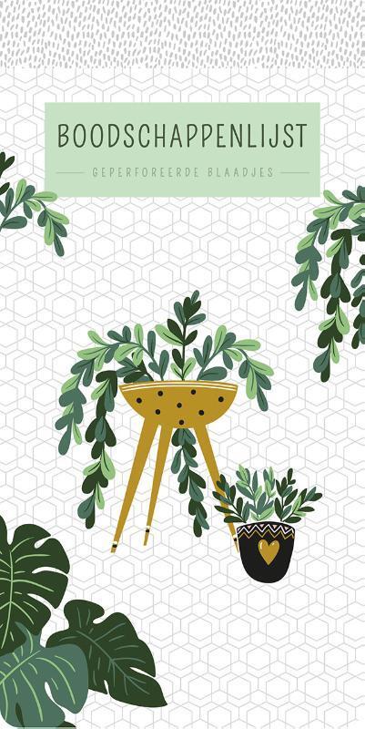 boodschappenlijst houseplants 9789044751703 boek