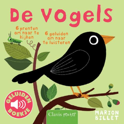 De vogels (geluidenboek) - Marion Billet