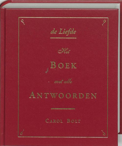 Afbeelding van De liefde - het boek met alle antwoorden