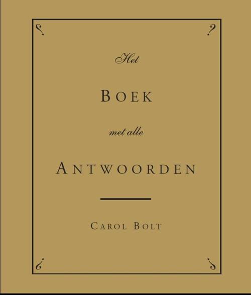 Afbeelding van Boek met alle Antwoorden - jubileumeditie