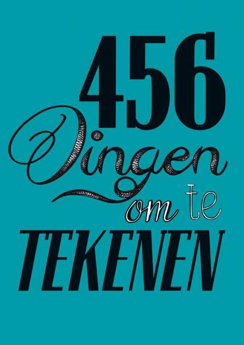 Afbeelding van 456 Dingen Om Te Tekenen