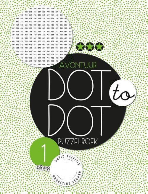 Afbeelding van Dot to dot puzzelboek