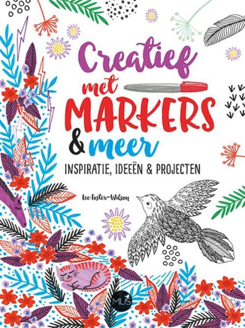 Afbeelding van Creatief met markers & meer