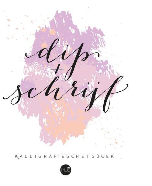 Afbeelding van Dip & schrijf kalligrafieschetsboek