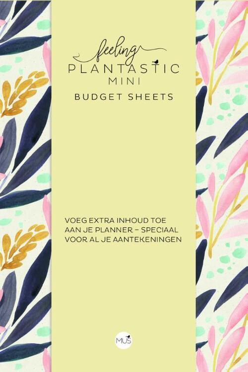 Afbeelding van Budget sheets MINI - Feeling Plantastic