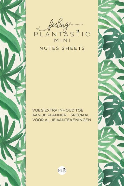Feeling Plantastic mini Notes Sheets