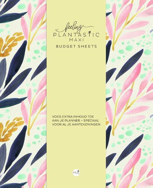 Afbeelding van Budget sheets MAXI - Feeling Plantastic