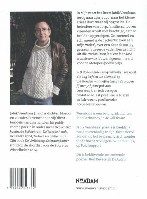 Mijn vader bad, Jabik Veenbaas   9789046818794   Boek - bookspot.nl
