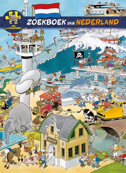 Afbeelding van Jan van Haasteren zoekboek van Nederland