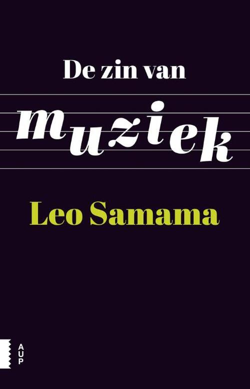 De zin van muziek - Leo Samama - eBook (9789048519897)