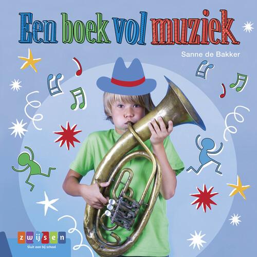Een boek vol muziek - Sanne de Bakker - Hardcover (9789048732951)