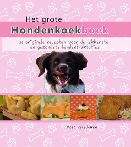 Afbeelding van Het grote hondenkoekboek