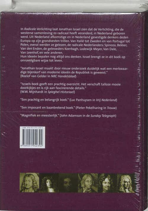 Radicale Verlichting, Jonathan I. Israel   9789051942392   Boek ...