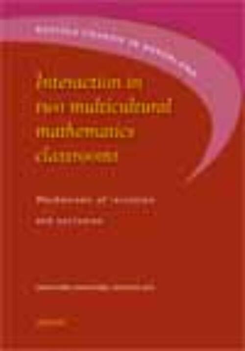 Afbeelding van Interaction in two multicultural mathematics classrooms
