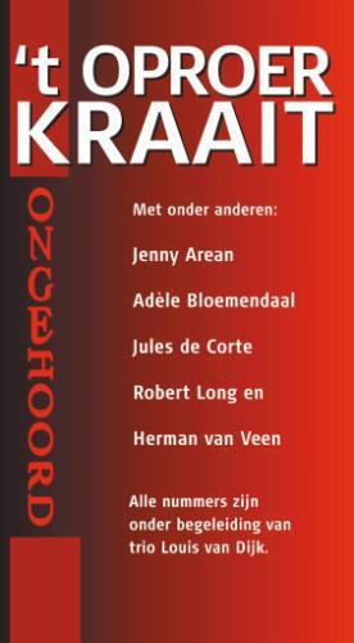 't Oproer kraait - (luisterboek - 4CD)