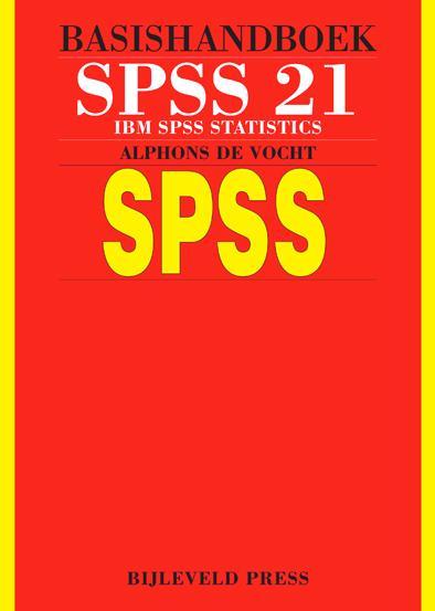 Afbeelding van Basishandboek SPSS 21