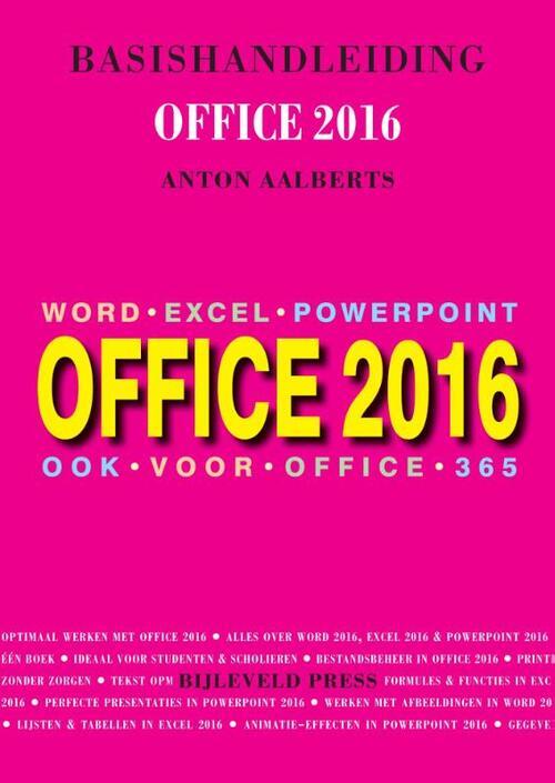 Afbeelding van Basishandleiding Office 2016