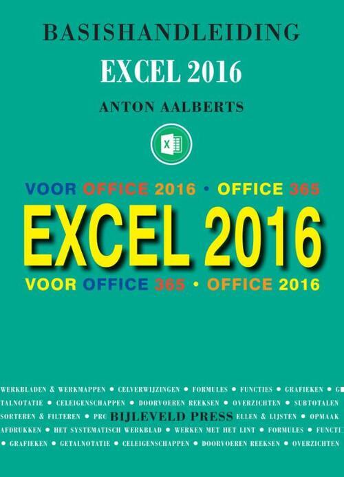 Afbeelding van Basishandleiding Excel 2016