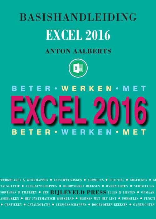 Afbeelding van Basishandleiding Beter werken met Excel 2016