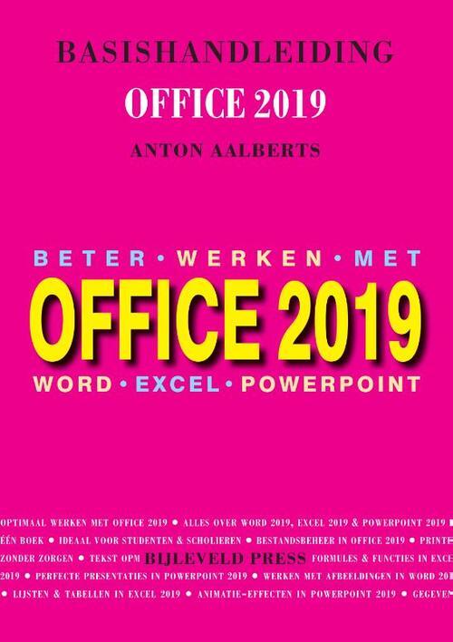 Afbeelding van Basishandleiding Office 2019