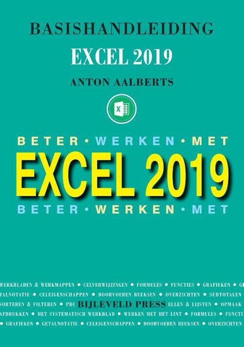 Afbeelding van Basishandleiding Excel 2019