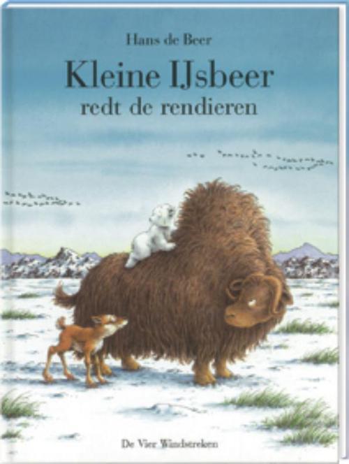 Kleine ijsbeer redt de rendieren - Hans de Beer