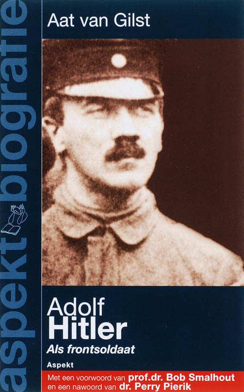 Afbeelding van Adolf Hitler als frontsoldaat