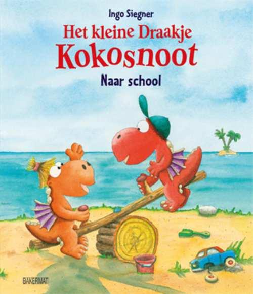 Afbeelding van Het kleine draakje kokosnoot naar school