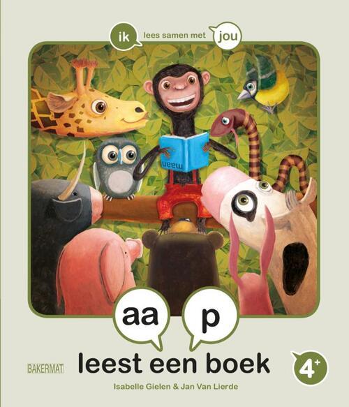 Afbeelding van Aap Leest Een Boek
