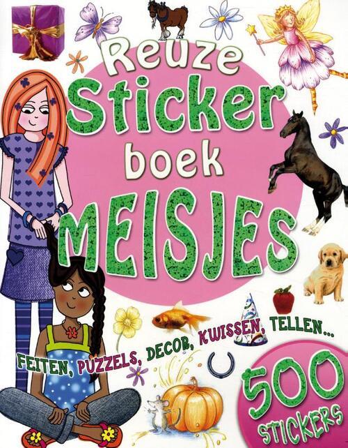 Afbeelding van Reuze stickerboek meisjes