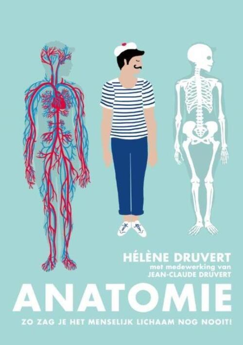 Anatomie, Hélène Druvert   9789059567306   Boek - bookspot.nl