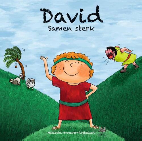 David – Samen sterk Hardcover Op werkdagen voor 23:00 uur besteld, volgende dag in huis Gideon, Stichting Uitgeverij