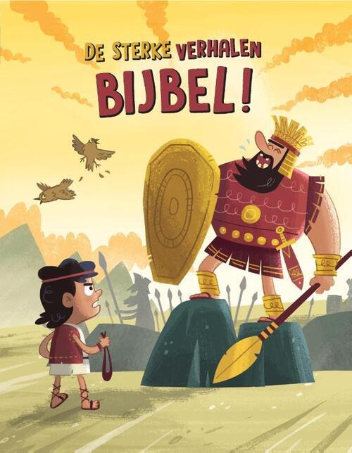 De sterke verhalen Bijbel Hardcover Op werkdagen voor 23:00 uur besteld, volgende dag in huis Gideon, Stichting Uitgeverij