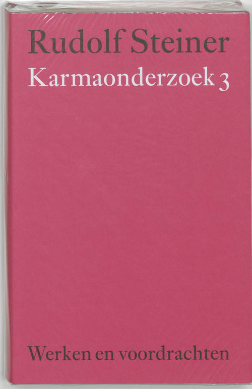 Karmaonderzoek - Rudolf Steiner