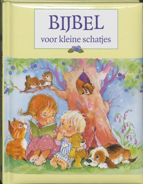 Bijbel voor kleine schatjes Hardcover Tijdelijk niet voorradig Gideon, Stichting Uitgeverij