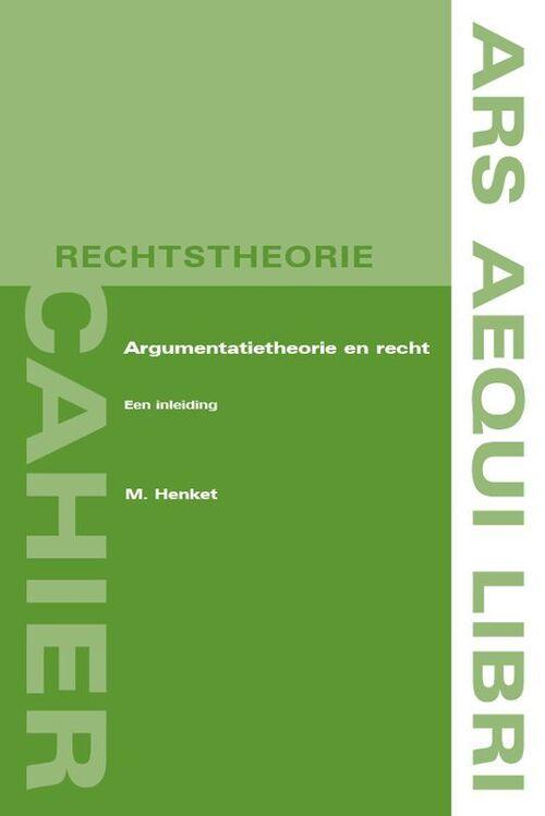 Afbeelding van Argumentatietheorie en recht
