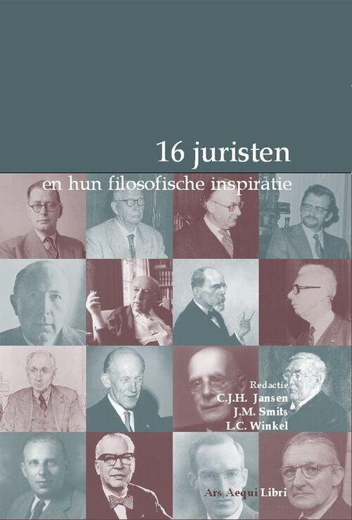 Afbeelding van 16 Juristen En Hun Filosofische Inspiratie