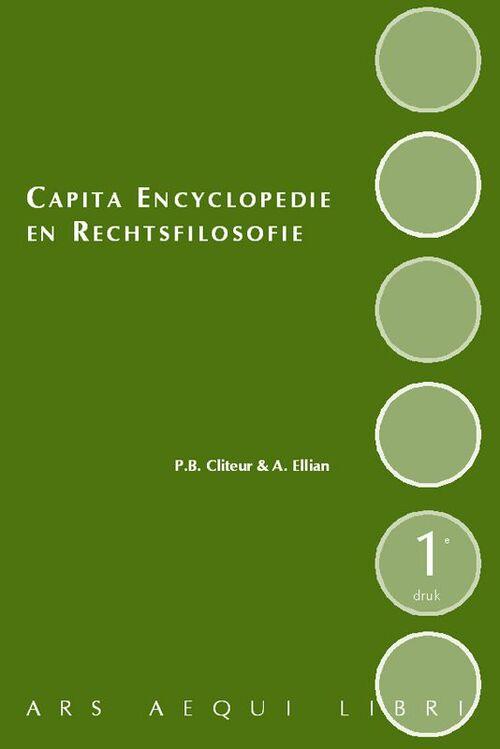 Afbeelding van Capita Encyclopedie en Rechtsfilosofie