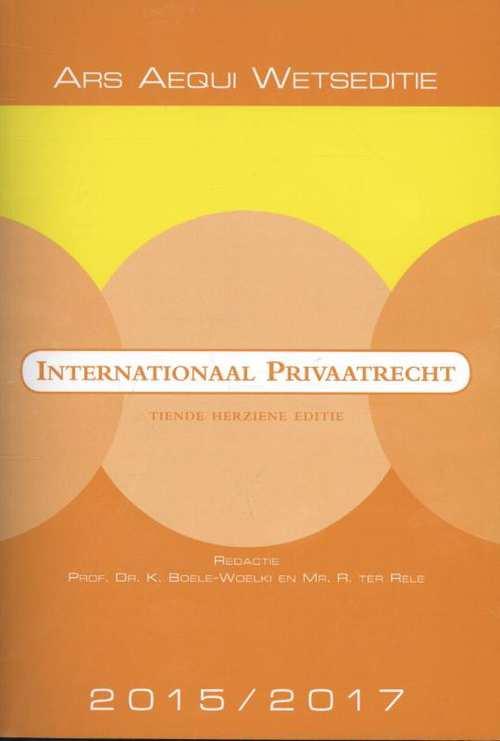 Afbeelding van Internationaal privaatrecht