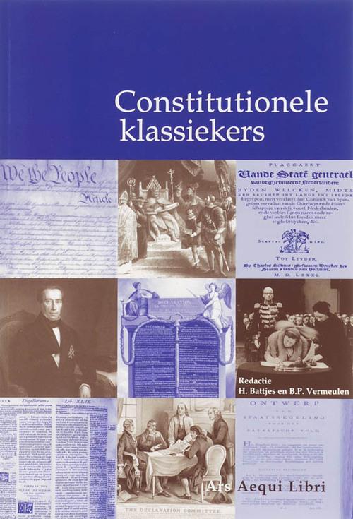 Afbeelding van Constitutionele klassiekers