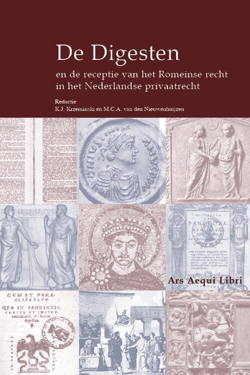 Afbeelding van De Digesten en de receptie van het Romeinse recht in het Nederlandse privaatrecht